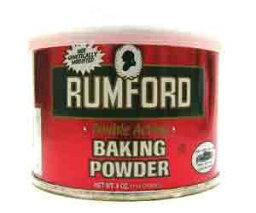 不用擔心無鋁泡打粉進口食品羅姆福德和發酵粉 114 g (不允許)