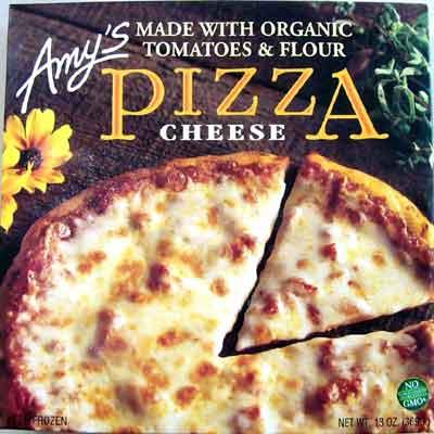 欠品中・2月中旬入荷予定 無添加ピザ■エイミーズ・無添加ヘルシーピザ・チーズ 368g★肉・魚介類・卵不使用