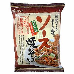 無添加ソース焼きそば111.3g★動物性原料不使用★国産小麦粉100%