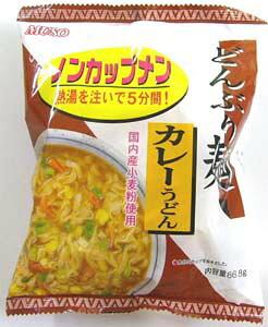 無添加どんぶり麺・カレーうどん 86.8g