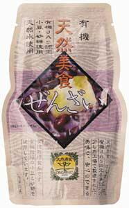 無添加小豆ぜんざい180g★有機JAS(無農薬・無添加)