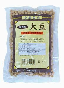 国内産 (無添加・無農薬)大豆(だいず) 300g