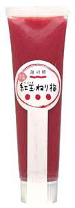 特別栽培 紅玉(べにたま)ねり梅 チューブ100g★国内産100%★オーサワジャパン