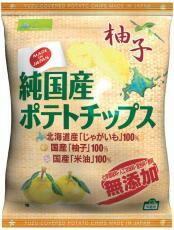 純国産ポテトチップス・柚子 53g