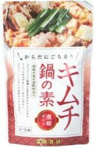 (季節品10月より)無添加鍋スープキムチ鍋スープ 150g