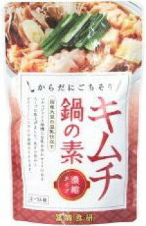 Since October, seasonal products-free pot soup kimchi NABE soup 600 g