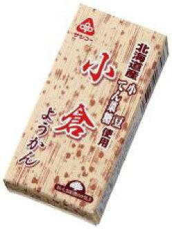 10个北海道生产原料小仓羊羹58g x