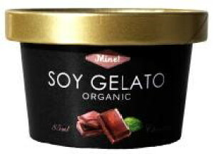 無添加アイス オーガニックSOYジェラートMine! ■チョコレート 85ml★卵・乳製品不使用★有機JAS(無農薬・無添加)★豆乳ジェラートアイス
