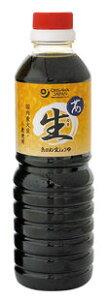 茜生醤油 500ml★オーサワジャパン★天然醸造法醤油★加熱処理無し★ペットボトル容器