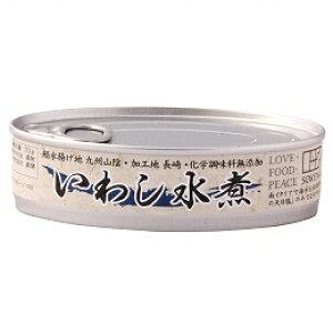 無添加缶詰め・いわし水煮 100g(固形量70g)★国内産100%★青魚の缶詰★放射能検査済