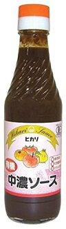 Organic JAS ( chemical-free, additive-free ) Hikari chuno sauce 250 ml