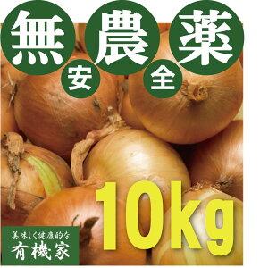 無農薬玉ねぎ 10kg★無農薬・無添加★兵庫県淡路島産