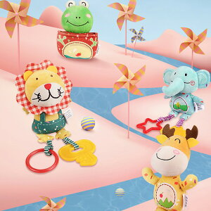 赤ちゃん用おもちゃ 0~12ヶ月用 ハンドベル ラトル ソフト プラッシュ 早期発達 ベビーカー 車 おもちゃ 幼児 新生児 出産祝い 誕生日ギフト 4パック