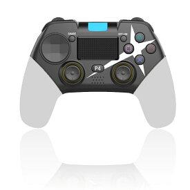 PS4 コントローラー 無線 Bluetooth接続 スゲームパッドワイヤレスコントローラー 色 ホワイト