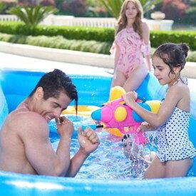 ビニールプール インフレータブル 折りたたみ スイミングプール 長方形 ファミリープール 大型 地上プール 供入浴プール 水 プール 子供用プール 子供用 水遊び 猛暑対策 家庭用プール 屋内用 お庭用 ビーチ用 260cm