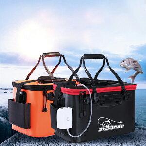 バッカン 釣りバケツ 屋外折りたたみ EVA製 ポータブル キャンプ用 洗濯用 水桶 選ぶ アウトドアに最適