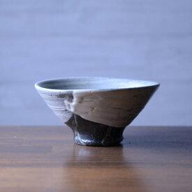 刷毛目飯碗(BY-301) 作家「吉岡萬理」