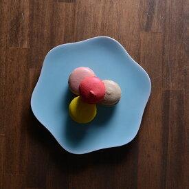 和食器 青白磁六弁皿 作家「市川博一」
