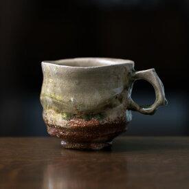 和食器・伊賀灰釉マグカップ 作家「新学」