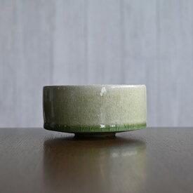 和食器 森緑釉小鉢-10.5cm-(MY-059) 作家「山本雅彦」