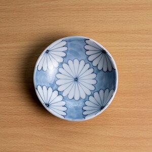 菊文豆皿(SK-005) 作家「小長谷節子」
