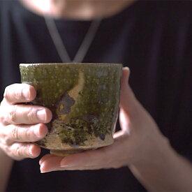 大和織部碗(TK-060)  作家「金本卓也」