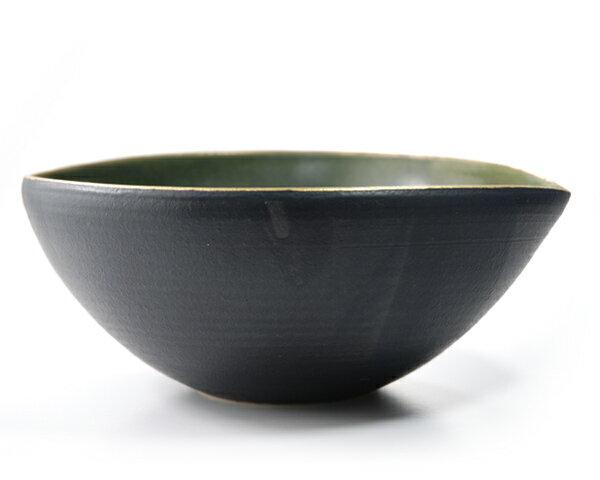 和食器 ノルウェーの森楕円鉢 作家「森野知子」