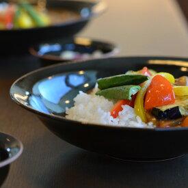 和食器 天目釉カレー皿(YT-033) 作家「多屋嘉郎」
