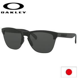 日本正規品 オークリー (OAKLEY) サングラス フロッグスキン ライト FROGSKINS LITE OO9374-0163 【Matte Black】【Grey】【Standard FIT】【スタンダードフィット】