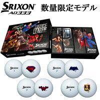 ダンロップスリクソンAD333ジャスティスリーグJUSTICELEAGUEキャラクターゴルフボール1ダース12球入SRIXONAD3331ダース(12個入)