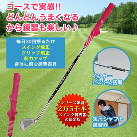 WOSS ウォズ ゴルフ練習器具 インナーピストン スイング練習器 ゴルフトレーニング