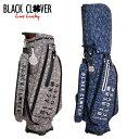 ブラッククローバー BLACK CLOVER ゴルフ キャディバッグ カモフラージュ柄キャディーバッグ BC5HNC16