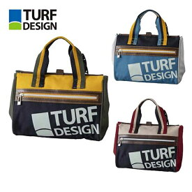 ターフデザイン TURF DESIGN ミニトートバッグ TDMT-2072 ラウンドトート Mini Tote Bag 朝日ゴルフ