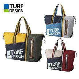 ターフデザイン TURF DESIGN トートバッグ TDTB-2072 ランドリーバッグ付き ボストンバッグ 朝日ゴルフ