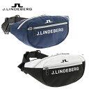 J.LINDEBERG ゴルフ ウエストポーチ 083-88907 ラウンドポーチ バッグ ラウンドバッグ ジェイ リンドバーグ