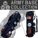 【即納】 アーミーベース コレクション US NAVY ABC-013SB スタンド キャディバッグ ネイビー ARMY BASE COLLECTION【…