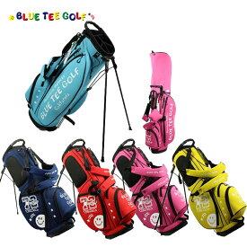即納 ブルーティーゴルフ ストレッチ スタンドバッグ 9型 BTG-CB003 【BLUE TEE GOLF】【CB003】【BTG-003】【キャディバッグ】