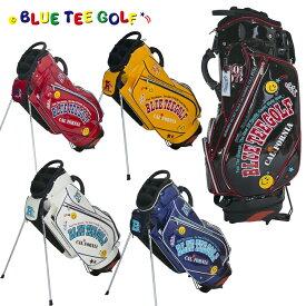 ブルーティーゴルフ エナメル スタンド式 キャディバッグ 9型 キャディバッグ BTG-CB012 【BLUE TEE GOLF】【CB012】【BTG-012】【キャディバッグ】