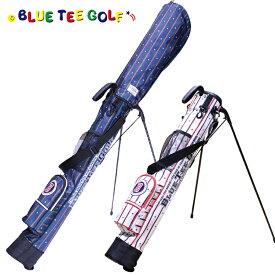 ブルーティーゴルフ スタンド式 クラブケース ストライプ ナイロン バージョン セルフスタンドバッグ BTG-CC003 【BLUE TEE GOLF】【セルフスタンド】 【セルフプレイ】【セルフ】
