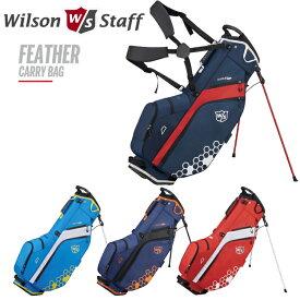 ウイルソン WILSON STAFF FEATHER CARRY BAG 9.5型 スタンド キャディバッグ 【フェザー】【ウィルソン スタッフ】【ゴルフバッグ】