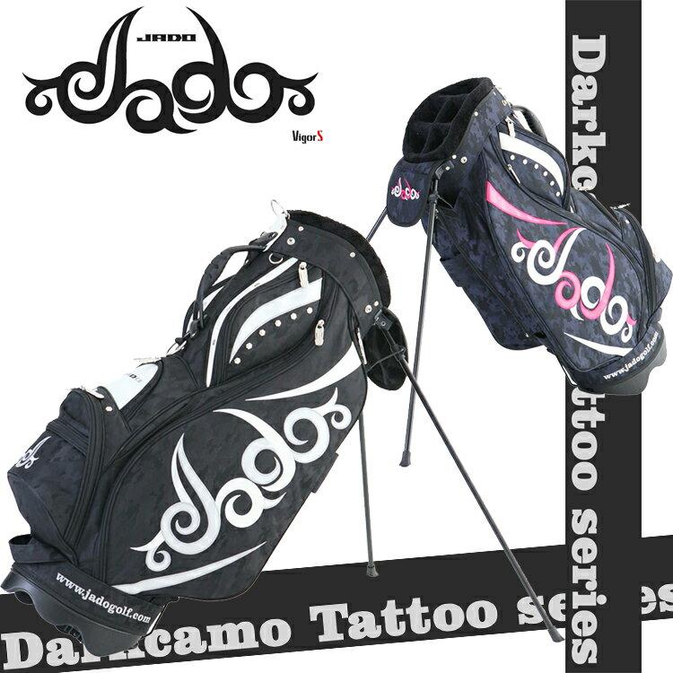 【即納】 2018年モデル ジャド ゴルフ Darkcamo Tattoo ダークカモ タトゥー シリーズ 9型 スタンド キャディバッグ JGSTCB8881 【JADO】 【邪道】【ジャド】 【Tattoo】【限定】
