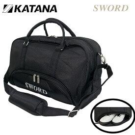 日本正規品 カタナ スウォード ボストンバッグ SWB-02 シューズ イン 機能付き【KATANA】【SWORD】【SWB02】【カタナゴルフ】