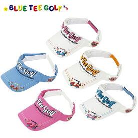 ブルーティーゴルフ BLUE TEE GOLF California コットン バイザー BTG-VS002 カート