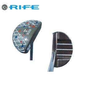 日本正規品 ライフ ゴルフ RIFE GOLF BELLEVUE CENTER MALLET 【ベレーヴセンターマレット】 パター 【日本限定モデル】
