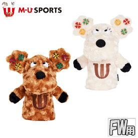 MU SPORTS MU スポーツ フェアウェイウッド ヘッドカバー 703C6582 キャラクター 【フェアウェイカバー】【FW】【M・U SPORTS】【MUスポーツ】【エムユー】