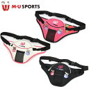 MU SPORTS MU スポーツ ポーチ ラウンドポーチ ウエストポーチ 703P6030 【ラウンド】【ポーチ】【ラウンドバッグ】…