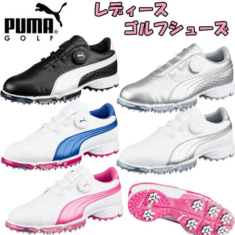 プーマ ゴルフ バイオプロ ディスク ウィメンズ ソフトスパイク ゴルフシューズ 189419 PUMA GOLF