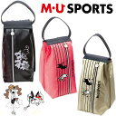 M・U SPORTS MUスポーツ 703U6410 ミュージック柄 シューズケース 【シューズバック】