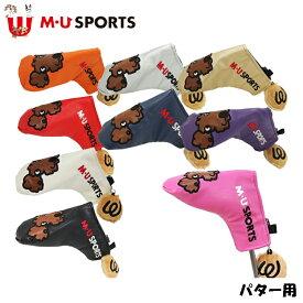 日本正規品 MU SPORTS MU スポーツ 703V1524S パター ヘッドカバー ピン型 レディース 【パターカバー】【ピン】【ブレード】【M・U SPORTS】【MUスポーツ】【エムユー】