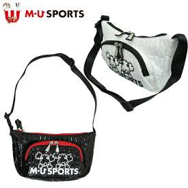 日本正規品 MU SPORTS MUスポーツ 703W3002 レディース ラウンドバッグ ポーチ 小物入れ 【ラウンド】【ポーチ】【カートポーチ】【カートバッグ】【M・U SPORTS】【MUスポーツ】【エムユー】